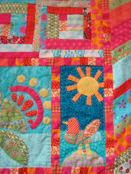 Whimsy quilt